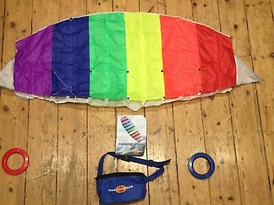 Parafoil Stunt 2-Liner Kite By Rhombus,
