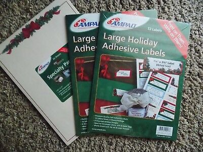 Ampad Christmas paper and Holiday Labels