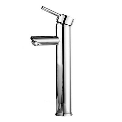 Bathroom Basin Sink Mixer Tap Waterfall Vessel Brass Faucet Single Handle P B9P3