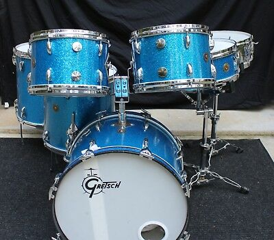 Rare Gretsch's Rock n Roll Series Drums Set late 1960's