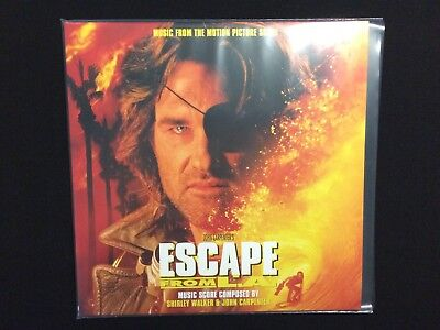 John Carpenter - Escape From LA Soundtrack Vinyl LP LTD Edition Test Tube Clear