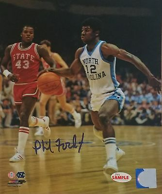 Phil Ford signed 8x10 Photofile photo w/JSA