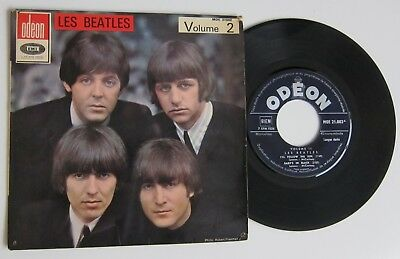 The Beatles Volume 2 Odeon Moe 21002 French Ep 45