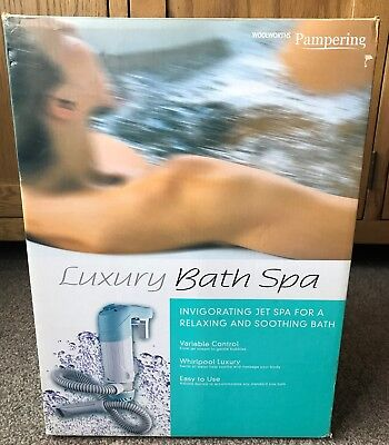 Woolworths Pampering Bath Spa / Whirlpool. Fits Any Bath New