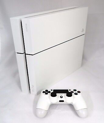 Sony PlayStation 4 (PS4) - 500 GB/1TB Glacier White Console With 1 TB HARD DRIVE