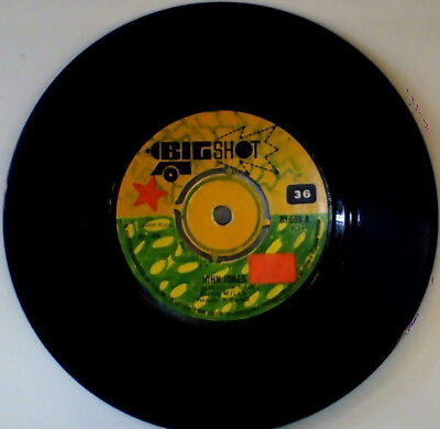 Original Bigshot label Rudy Mills JOHN JONES - PLACE CALLED HAPPINESS Reggae/ska