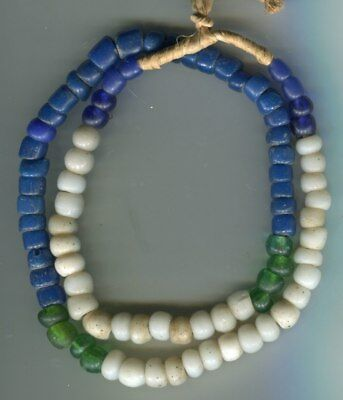 African Trade beads Vintage European glass beads Old mixed color padre beads