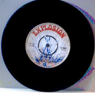 Rare Explosion label Bongo Les and Herman Reggae 45 Dr Who part1 & part 2
