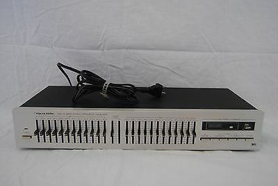 Realistic Twelve Band Stereo Frequency Equalizer Mod 31 2010