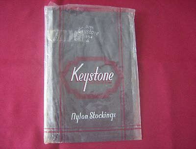 1 pair of keystone vintage stockings size 9 and a half