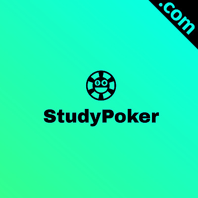 NO RESERVE: StudyPoker.com 2 WORD Premium Domain name @NETWORKSOLUTIONS