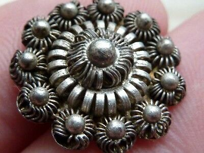 Silver wire button metal detecting find