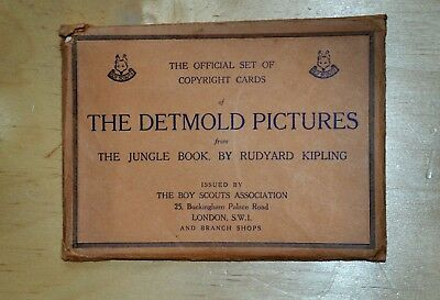 Jungle Book, Detmold Pictures for Boy Scouts Association