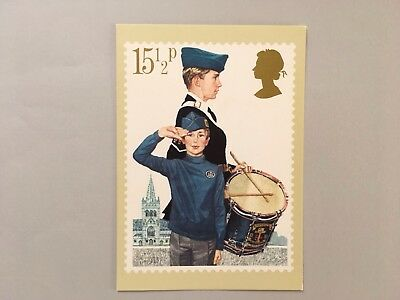 Postcard, The Boys' Brigade, Youth Organisations Royal Mail Phq 58 Stamp Card