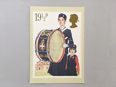 Postcard, The Girls Brigade, Youth Organisations Royal Mail Phq 58 Stamp Card