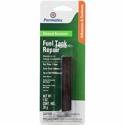 Permatex 84334 Fuel Tank Repair Epoxy Stick putty gas can  25ml