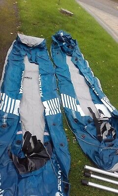 x2 Sevylor Riviera two person Inflatable Kayaks, Paddles & Boyancy Aids - Bundle