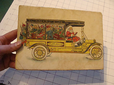 vintage book: HOCHSCHILD, KOHN & co HOLIDAY GREETINGS 1911, torn