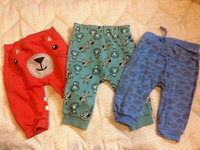 Tu Boys Joggers Bundle Autumn Size 3-6 Months