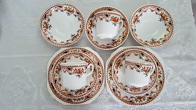 "Vintage fine bone china tea set - ""Selmoa"" Osborne"