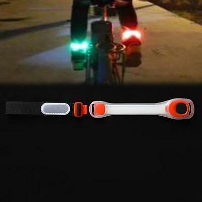 Flashing Safe Reflective Belt Arm Band Strap Night Running LED Armband Light K0