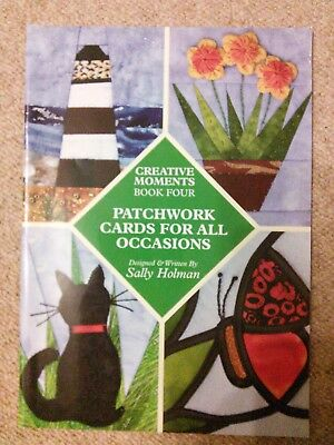 Patchwork Cards for All Occasions paperback book by Sally Holman