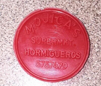 Mojica's Supermarket Hormigueros 50 Cents Food Stamp Credit Token