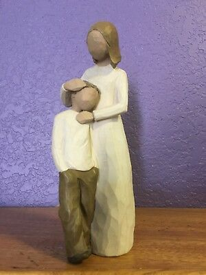 Willow Tree Home Decor Mother and Son 2002 Collectable Gift Figurine Sculptures