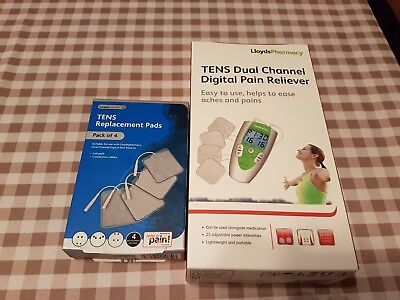 Lloyds Tens Pain Reliever Dual Channel & Replacement Pads