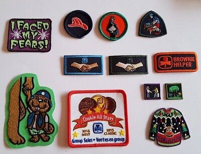 Girl Guides of Canada / Scouts - lot of badges / patches / crests