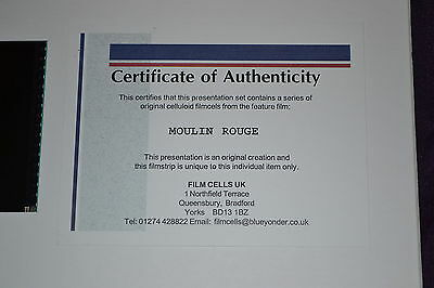 MOULIN ROUGE Limited Edition Film Cell ** countdown to Xmas  FREE POSTAGE
