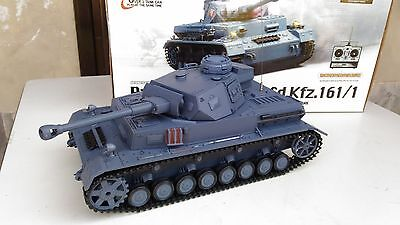 Carro Armato Tedesco RADIOCOMANDATO RC Panzer IV scala 1:16 Whermacht WW2 Model