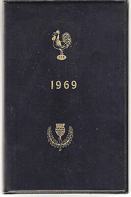 FRANCE v SCOTLAND 1969 SPECIAL EDITION RUGBY PROGRAMME