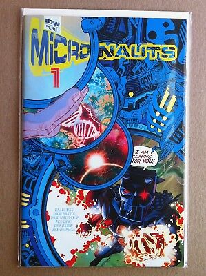 """MICRONAUTS (2016) #1 REGULAR """"A"""" COVER by J.H. WILLIAMS NM 1ST PRINTING IDW"""