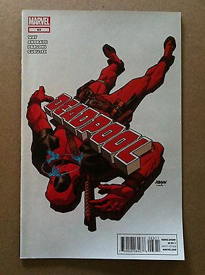 Deadpool V.2 #63 Final Issue Dave Johnson Cover Daniel Way Fn Fine 1St Printing