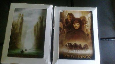 Topps 2001 LOTR 'Fellowship Of The Rings' Trading Cards Set + update 162 cards