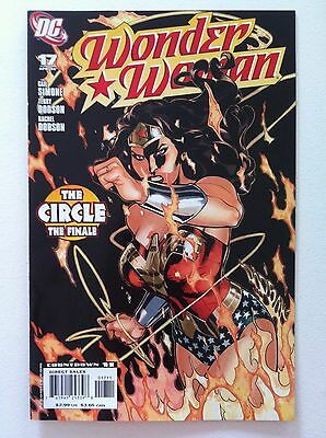 Wonder Woman (2006) #17 Terry & Rachel Dodson Art Gail Simone 1St Printing Vf+