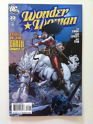 Wonder Woman (2006) #22 Gail Simone Aaron Lopresti Matt Ryan 1St Printing Vf/nm