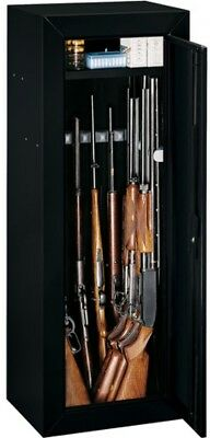 14 Gun Security Cabinet Stack On Rifle Safe Storage Locker Shotgun Firearm  Lock