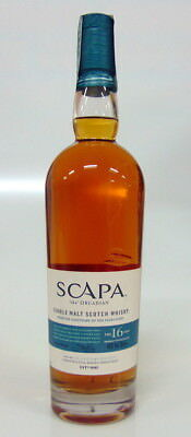 Whisky Scapa 16 Years Old The Orcadian Single Malt Scotch Whisky