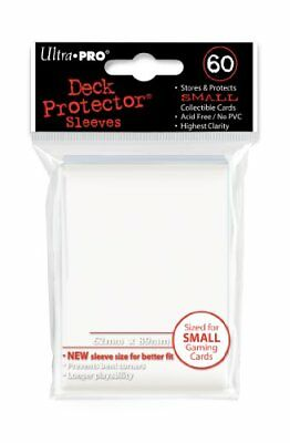 Ultra Pro Card Supplies YUGIOH Deck Protector Sleeves White 60 Count