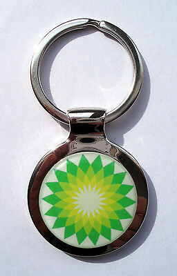BP Gas Key Chain, british petroleum Gasoline Logo Keychain, BP Gas Keychain
