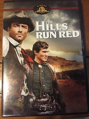 The Hills Run Red Country Western Dvd Like New