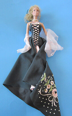 "OOAK TYLER DOLL ""MASQUERADE BALL"" BY UK ARTIST ANDREA JACQUES  -  Gorgeous/Mint!"