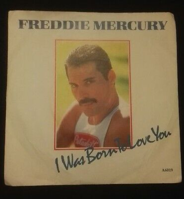 Freddie Mercury I Was Born To Love You LP Record Vinyl