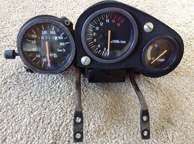 Suzuki GSXR 400. GSXR400 GK76A  Speedo CLOCKS. Showing 18713 Kms