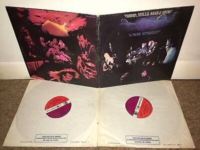 CROSBY STILLS NASH & YOUNG Four Way Street LP UK 1st Press!