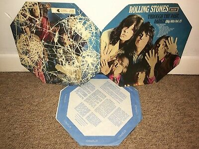 THE ROLLING STONES Through The Past Darkly LP UK 1st Press!