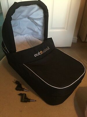 Out And About Nipper Carry Cot Black