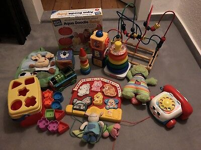 Riesengrosses Baby -/ Kinder Spielepaket Fisher-Price, Haba, Eichhorn, Doodle